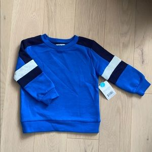 New with Tags George Blue Crew Neck Sweatshirt